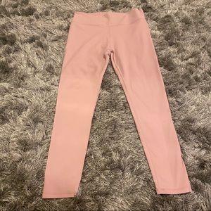 Light pink power hold leggings